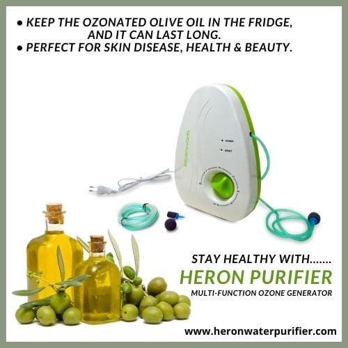 Ozoneted Olive Oil